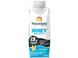 [App+Cliente Ouro+MagaluPay] Bebida Láctea Piracanjuba Whey Baunilha - Zero Lactose 250ml | R$2,74
