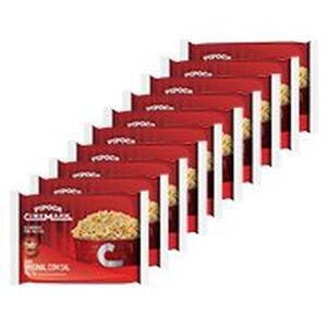 [CC Shoptime] Kit Pipoca Cinemark 10 Unid Sabor Original | R$ 17
