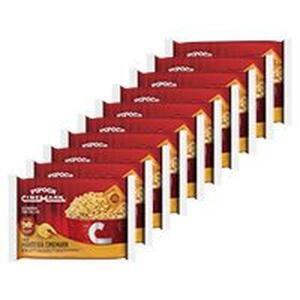[CC Shoptime] Kit Pipoca Cinemark 10 Unid Sabor Manteiga | R$ 26