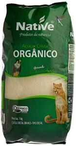 Açúcar Cristal Orgânico Native 1kg   R$ 5