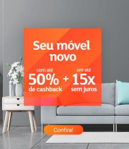 [AME] Móveis com até 50% de Cashback pagando com AME