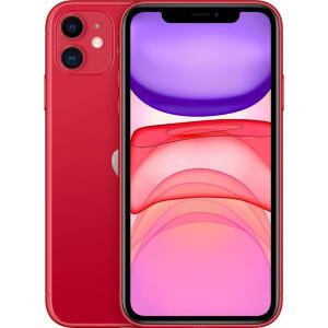 iPhone 11 64GB Vermelho Desbloqueado iOS 4G Wi-Fi Câmera 12MP - R$4015