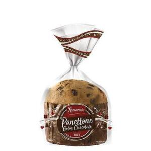 Panettone Poli 400g Gotas Chocolate Romanato R$ 6