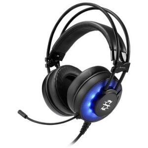 Headset Gamer Sharkoon SGH2 Led Azul USB - R$136