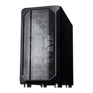 Gabinete Gamer Galax Nebulosa, Mid Tower, Vidro Temp., Sem Fan, Black, Sem Fonte, GX700 | R$279