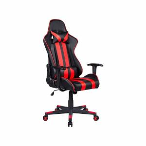 Cadeira Gamer Travel Max Reclinável - Preta e Vermelha Sports | R$760