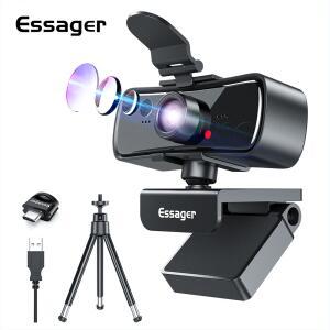 Webcam Essager c3 1080p | R$114