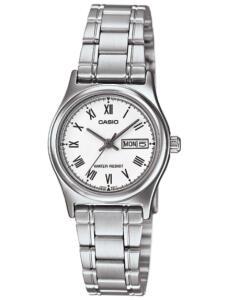 Relógio Feminino Analógico Casio LTP-V006D-7BUDF - Prata | R$154