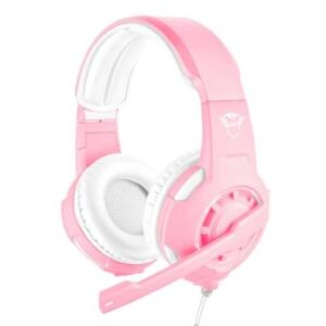 Headset Gamer Trust GXT 310P Radius, Drivers 40mm, Pink - 23203 | R$188