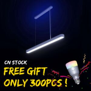 Luz pendente inteligente Yeelight + presente lâmpada inteligente R$575