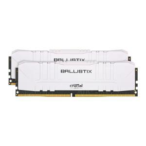 Memória Crucial Ballistix Sport LT, 16 GB (2X8), 3200MHz, DDR4, CL16, Branca - BL2K8G32C16U4W