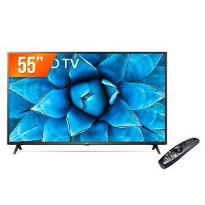"Smart TV LED 55"" 4K UHD LG 55UN731C   R$ 2399"