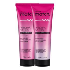 Combo Match Patrulha do Frizz: Shampoo + Condicionador | R$57