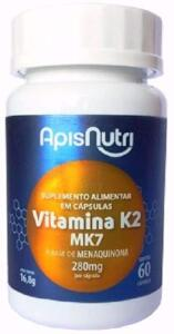 Suplemento de Vitamina K2, 60 Capsulas | R$18