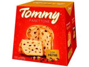( Cliente Ouro + APP ) Panetone Tommy Tradicional - 400g | R$ 4,50