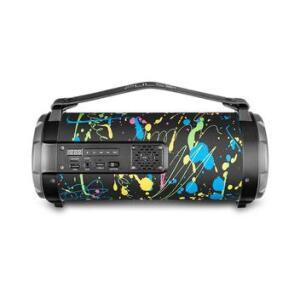 Caixa de Som Bluetooth Pulse Bazooka Paint Blast I 80W Preta - SP361 Multilaser | R$249
