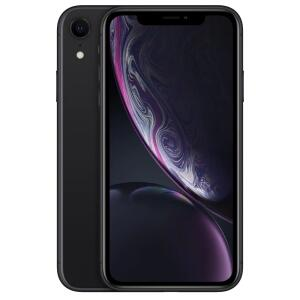 "iPhone XR Apple 64GB Preto, Tela de 6.1"", Câmera de 12MP, iOS R$3.685"