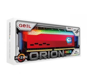 Memória DDR4 Geil Orion, Edição AMD, 16GB (2x8GB) 3000MHz, RGB - R$579