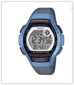 Relógio Unissex Casio Digital LWS-2000H-2AVDF-SC - Azul | R$ 120