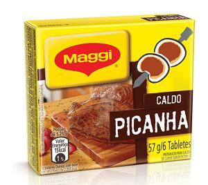 [PRIME + Rec] Caldo Maggi Picanha, Tablete, 57g (mín. 5) | R$0,68
