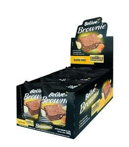 Brownie de Caramelo com Castanha-Do-Brasil - 10 unidades | R$21