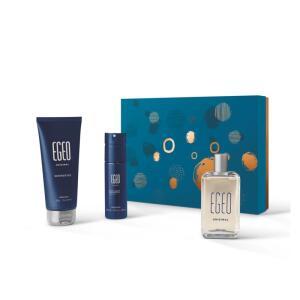 Kit Presente Eeo Original: Desodorante Colônia 90ml + Body Spray 100ml + Shower Gel 200g   R$ 139