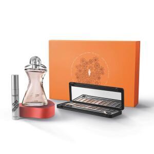 Kit Presente Make B. e Glamour: Palette de Maquiagem 8g + Máscara Cílios Postiços 12g | R$ 203