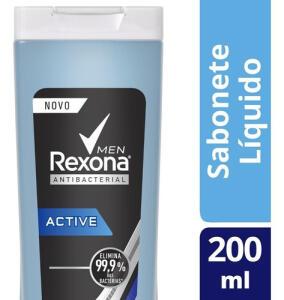 Sabonete Liquido Rexona Active 200ml | R$4