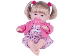 Boneca Dolls Collection Bebê Feliz com Acessórios - Super Toys   R$ 18