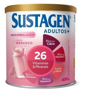 Sustagen adulto - Morango 400g | R$24