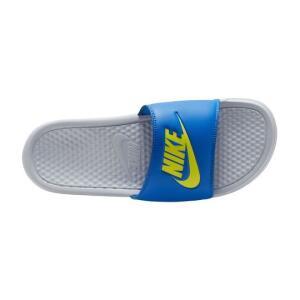 Chinelo Nike Benassi JDI - Azul & Branco R$60