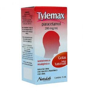PARACETAMOL - TYLEMAX GOTAS 15ML R$2