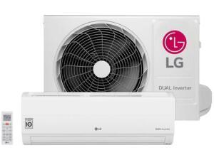 (APP + Cliente Ouro) Ar-condicionado Split LG 9.000 BTUs Frio - Dual Inverter Voice - R$1.650
