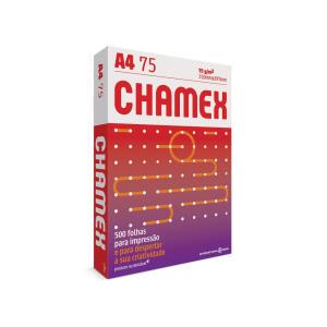 Chamex Office - A4 - Pacote Com 500 Folhas - R$10