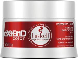 Máscara Matizadora Vermelha/Red 250gr LOW POO, Haskell 250g - R$34