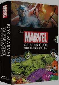Box Marvel Guerra Civil: Guerras secretas R$30