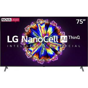 "Smart TV LED 75"" UHD 4K LG R$8499"