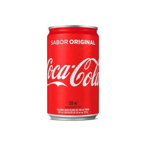 [APP/Retirada] Coca Cola lata 220ml por R$1