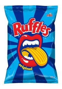 Batata Frita Ondulada Original Elma Chips Ruffles Pacote 84g   R$2,90