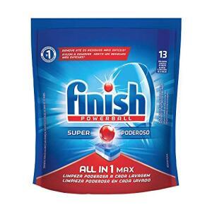 Tabletes Detergente Para Lava-Louças Finish Powerball, 13 Tabletes | R$14