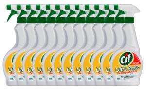 Limpador Cif Ultra Rápido Desengordurante Gatilho 500 ml - 12 unidades | R$110