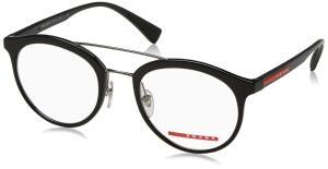 Óculos Prada Sport PS01HV 1AB1O1 Preto Lente | R$248