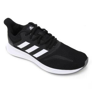 Tênis Adidas Runfalcon Feminino - Preto e Cinza - R$140