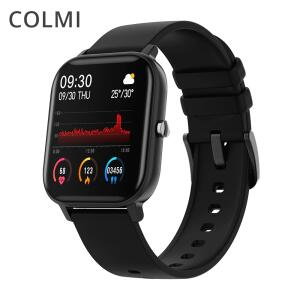 "Smartwatch Colmi p8 1.4"" completo fitness rastreador pressão arterial relógio - R$108"