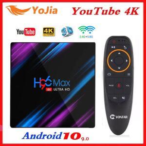 Smart box H96 max android 10.0 4gb ram 64gb rom 4k R$108