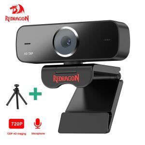 Webcam REDDRAGON GW600 com microfone embutido