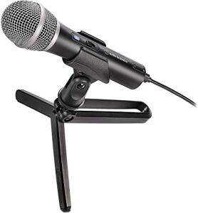 [Prime] Microfone Audio-Technica ATR2100X Cardioide Dinâmico XLR, USB R$739