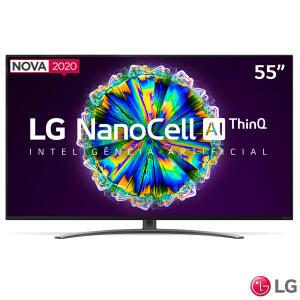 "Smart TV LG Nanocell 55"" 4K com IPS NanoCell R$3599"