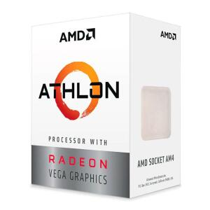 PROCESSADOR AMD ATHLON 3000G DUAL-CORE 3.5GHZ 5MB CACHE AM4 R$400