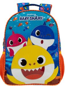 Mochila 14 Baby Shark R1 | R$79